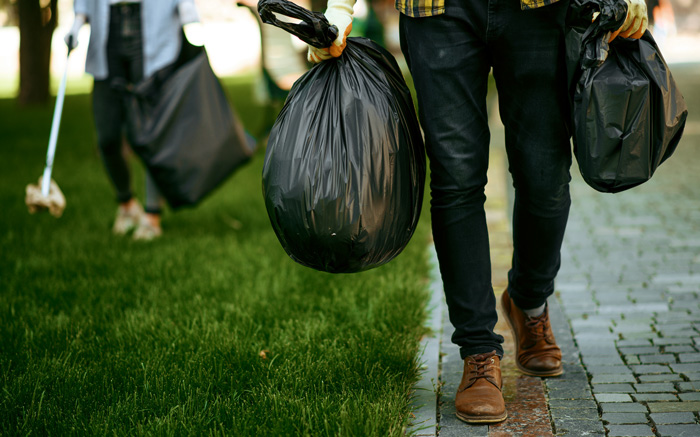 Resíduos produzidos nos domicílios e alojamentos locais